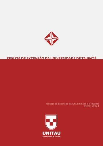 Revista final - Pró-reitoria de Extensão - Unitau