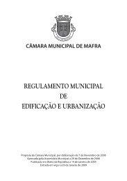 Regulamento municipal de ediFicaÇÃo e uRBaniZaÇÃo - Câmara ...
