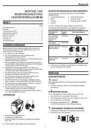 Bedienungsanleitung (Deutsch) - Produktkatalog Haustechnik