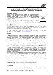 x-006 - aspectos da evolução da urbanização e dos ... - BVSDE