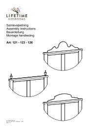 121 - 123 - 126 Art: Samlevejledning Assembly ... - Wallenfels