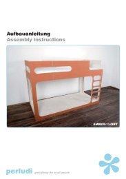 Aufbauanleitung Assembly instructions - Wallenfels