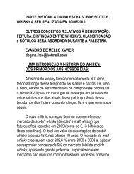 parte histórica da palestra sobre scotch whisky a ... - ABS - Campinas