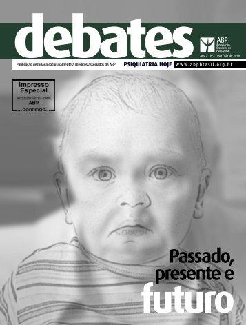 Passado, presente e - Associação Brasileira de Psiquiatria