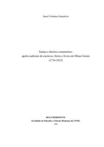 CAPTULO I - Biblioteca Digital de Teses e Dissertações da UFMG
