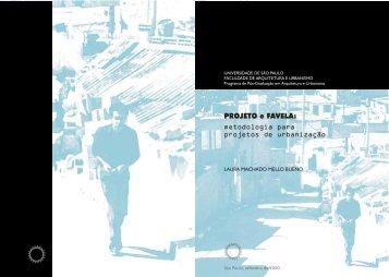 metodologia para projetos de urbanização PROJETO e ... - USP