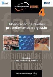 Urbanização de favelas: procedimentos de gestão - Alex Kenya ...