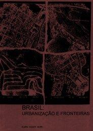 Brasil: urbanização e fronteiras - USP