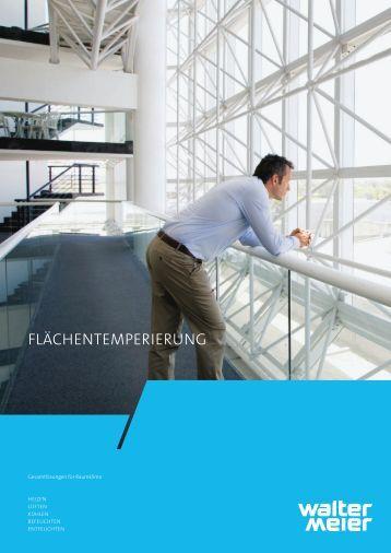 FLäCHENTEMPERIERUNG - Walter Meier