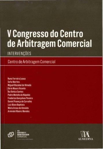 Confidencialidade na arbitragem - LO Baptista - SVMFA