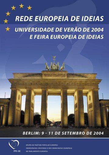 feira europeia de ideias - European Ideas Network