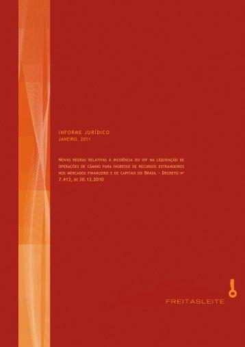 Informe Jurídico - Decreto 7412 de 30 12 2010