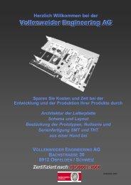 Firmenportrait als PDF - bei Vollenweider Engineering AG