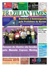 """""""Minha maior recompensa é poder ajudar a ... - Brazilian Times"""