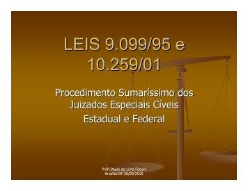 Procedimento Sumaríssimo dos Juizados ... - Justiça Federal