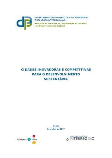 cidades inovadoras e competitivas para o desenvolvimento