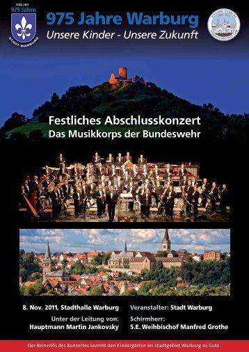 975 Jahre Warburg - Stadt Warburg