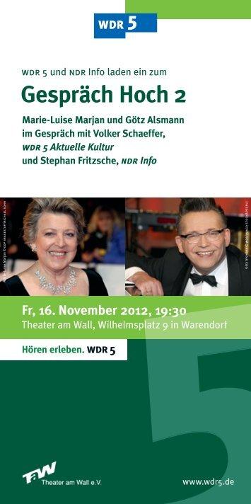 Gespräch Hoch 2 - Warendorf