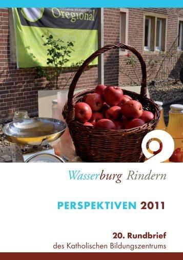 PERSPEKTIVEN 2011 20. Rundbrief - Wasserburg Rindern