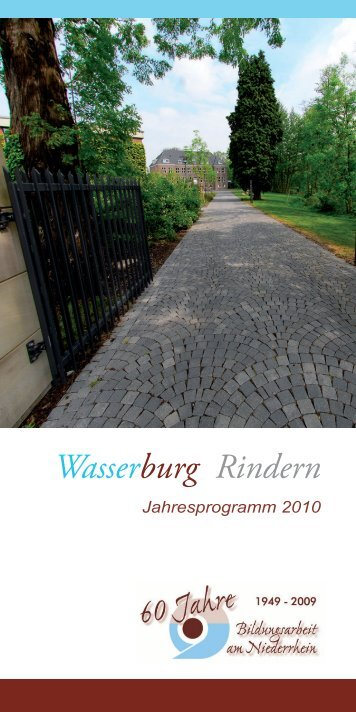 Wasserburg Rindern - KLE-Point