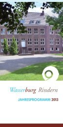 arbeitswelt - Wasserburg Rindern