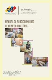 Manual de funcionamiento de la mesa electoral