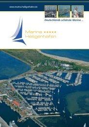 Broschüre downloaden - Yachthafen Ostsee Marina Heiligenhafen