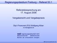 Regierungspräsidium Freiburg – Referat 53.1 - wat ...