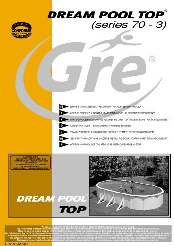 DREAM POOL TOP - PiscinaFacil.es