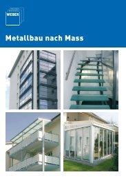 Ernst Weber AG - Metallbau nach Mass