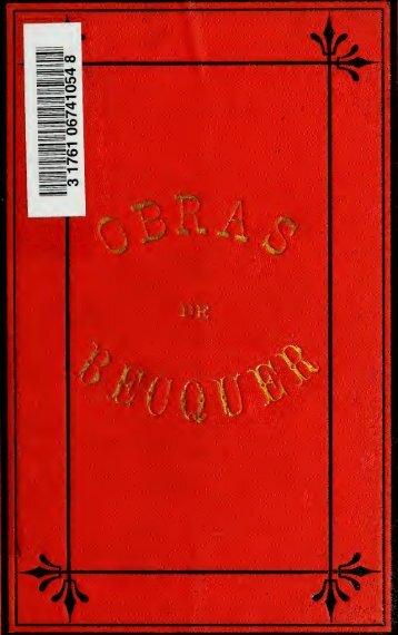Obras : de Gustavo A. Becquer