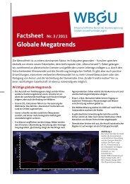 Globale Megatrends als pdf - WBGU