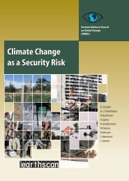 World in Transition: Climate Change as a Security Risk - WBGU