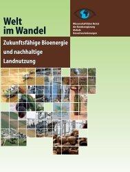 Zukunftsfähige Bioenergie und nachhaltige Landnutzung