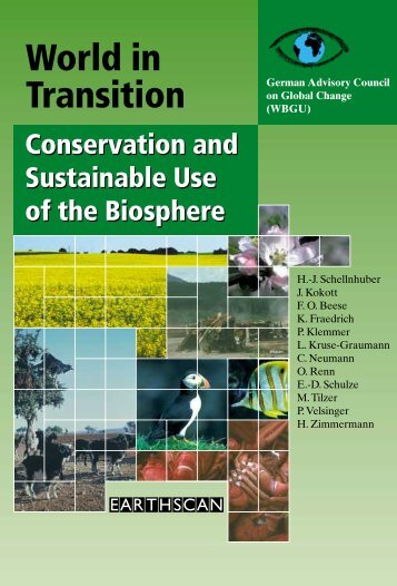World in Transition -- Conservation and Sustainable Use of ... - WBGU