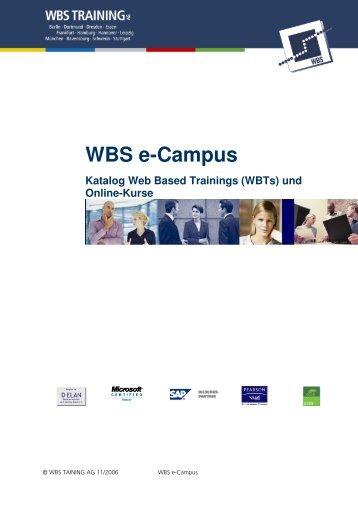 WBS e-Campus - WBS Training AG