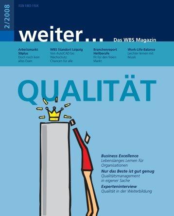 WBS Magazin 2/2008 - WBS Training AG