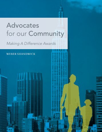 Advocates for our Community - Weber Shandwick