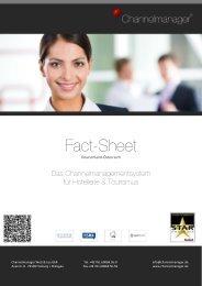 Channelmanager Fact-Sheet - Web-Media