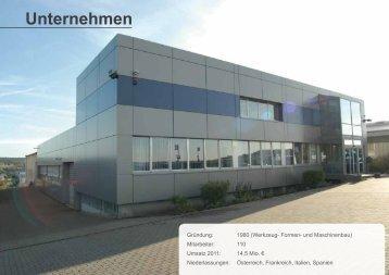Unternehmen - Weforma