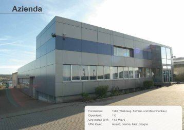 Azienda - Weforma