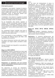 ZDK Istruzioni per l'uso ed il montaggio - Weforma