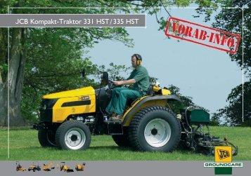 JCB Kompakt-Traktor 331 HST/335 HST - Wegema-trac.de