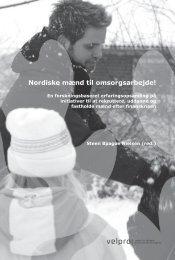 Nordiske mænd til omsorgsarbejde!