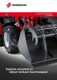 Lisävarusteet - Weidemann GmbH