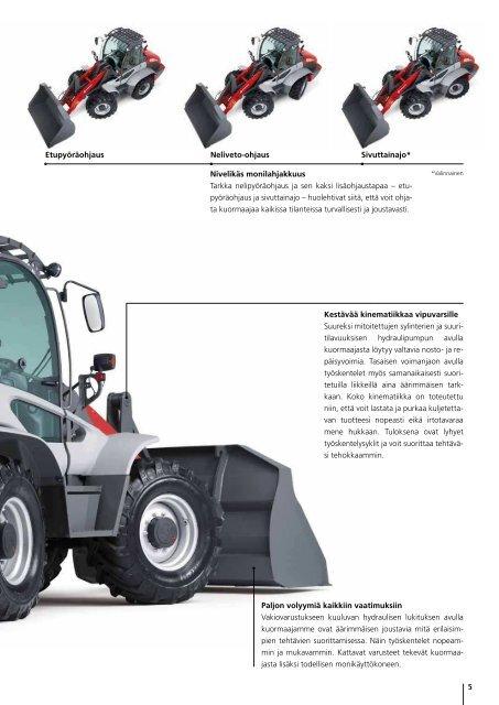 Pyöräkuormaaja 8080 CX120 - Weidemann GmbH
