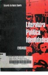 Literatura, Política, Identidades – Ensaios - FALE - UFMG