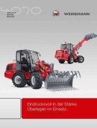 40er Reihe - Weidemann GmbH