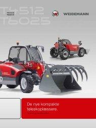 T4512 und T6025  - Weidemann GmbH