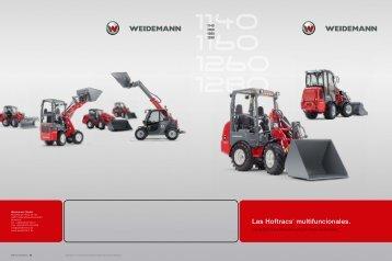 Las Hoftracs® multifuncionales. - Weidemann GmbH